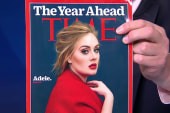 Adele graces the cover of Time Magazine