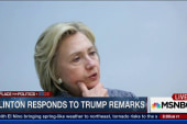Hillary Clinton: Trump has no boundaries
