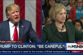 Clinton: Nothing surprises me about Trump