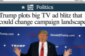 Trump threatens to run ads, but will he?