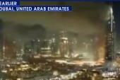 Dubai's Twitter feed stop covering fire