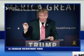 Trump included in terrorist recruitment video