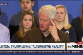 Clinton: Trump living in 'alternative...