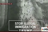 Trump on border ad flap: It was just footage