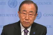 UN Secy. General condemns North Korea