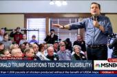 Trump questions Cruz's eligibility