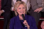 Clinton: I am proud of the President