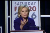 Hillary: US can't afford Republican president