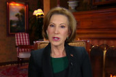 Fiorina: We can't settle for an entertainer