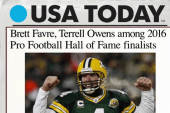 Pro Football Hall of Fame finalists announced