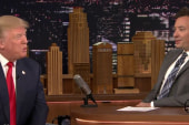 Fallon interviews Trump on 'Tonight Show'