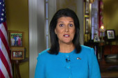 GOP party split on support for Nikki Haley