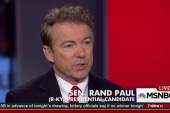 Rand Paul: 'Trump is a disaster' for the GOP