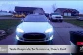 You can now summon your Tesla like Batman
