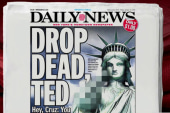 Joe: Daily News extends middle finger to Cruz
