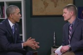YouTube stars interview Obama at WH