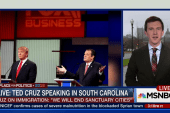 Cruz in SC after controversial remarks on NYC