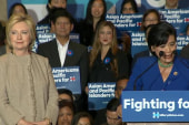 Candidates court Asian-American voters