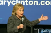Clinton sharpens criticism against Sanders