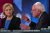 Clinton, Sanders spar on health care