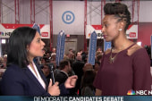 Policing issues a focus at Dem debate