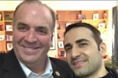 Rep. meets with American freed from Iran