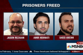 Americans freed in Iran deal