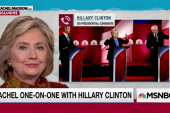 Hillary Clinton on wooing Sanders supporters