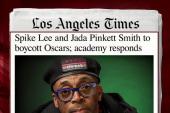 Academy head responds to Oscars diversity...