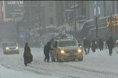NY digs out from under snowstorm