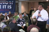 Christie defends return to campaign trail