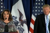 Trump: Palin endorsement having big impact