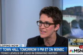 Maddow: Flint not caused by local officials