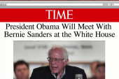 Sanders set to meet with the president