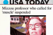 Mizzou 'muscle' professor suspended