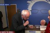 Bernie Sanders boasts boxing skills