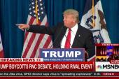 Trump versus Democrats