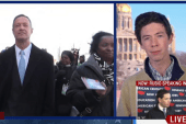 Son of Martin O'Malley speaks to MSNBC