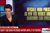 New tests show lead still a danger in Flint
