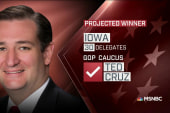 NBC News projection: Cruz wins Iowa caucus