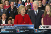 Clinton sees victory amid caucus chaos