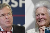 Bush: Proud mom campaigning for me today
