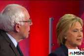 Clinton, Sanders squabble in MSNBC debate