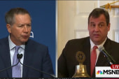Kasich, Christie contrast in campaign styles