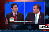 Rubio goes robo in NH debate