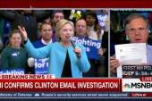FBI Confirms Clinton Email Investigation