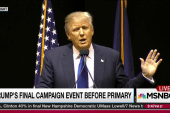Trump careless with coarse language in NH