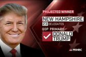 NBC News projection: Trump, Sanders win NH