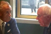 Sanders meets with Rev. Al Sharpton