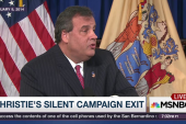 Chris Christie exits 2016 without a speech